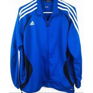 Adidas Men's TIRO 19 Training Jacket Bold Blue LG